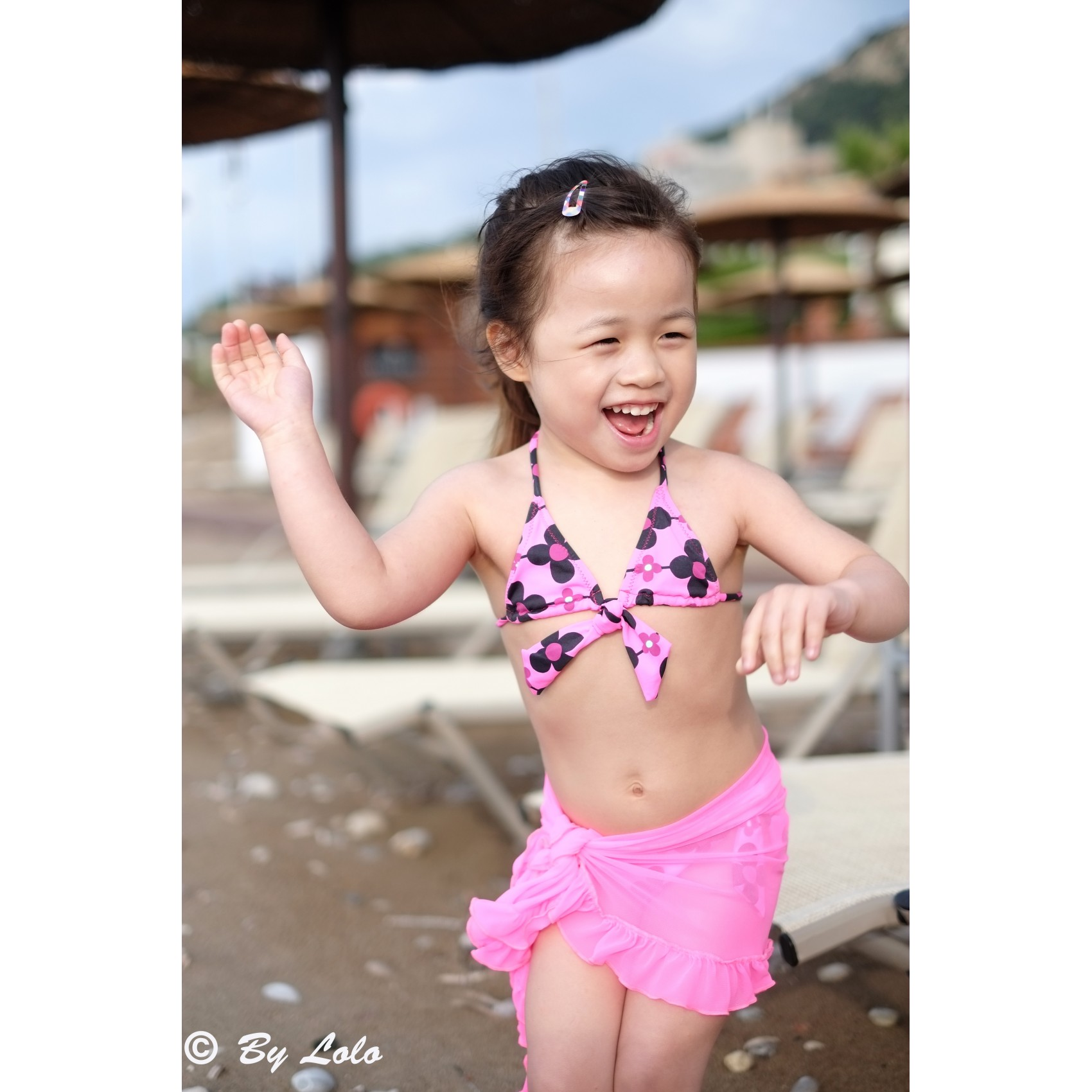 Flower Print Bikini Princesse Ilou