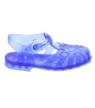 Sandalias de baño azul
