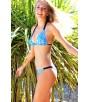 Braquita bikini azul brillo