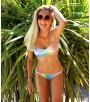 Braquita bikini brillo mujer Rainbow