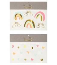 Tatouages éphémères Rainbow