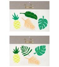 Tatouages éphémères Tropical