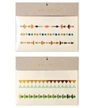 Tatouages éphémères Bracelets dorés