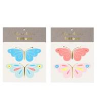 Tatouages éphémères Papillon