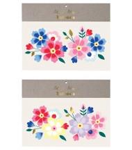 Tatouages éphémères Bouquet de fleurs