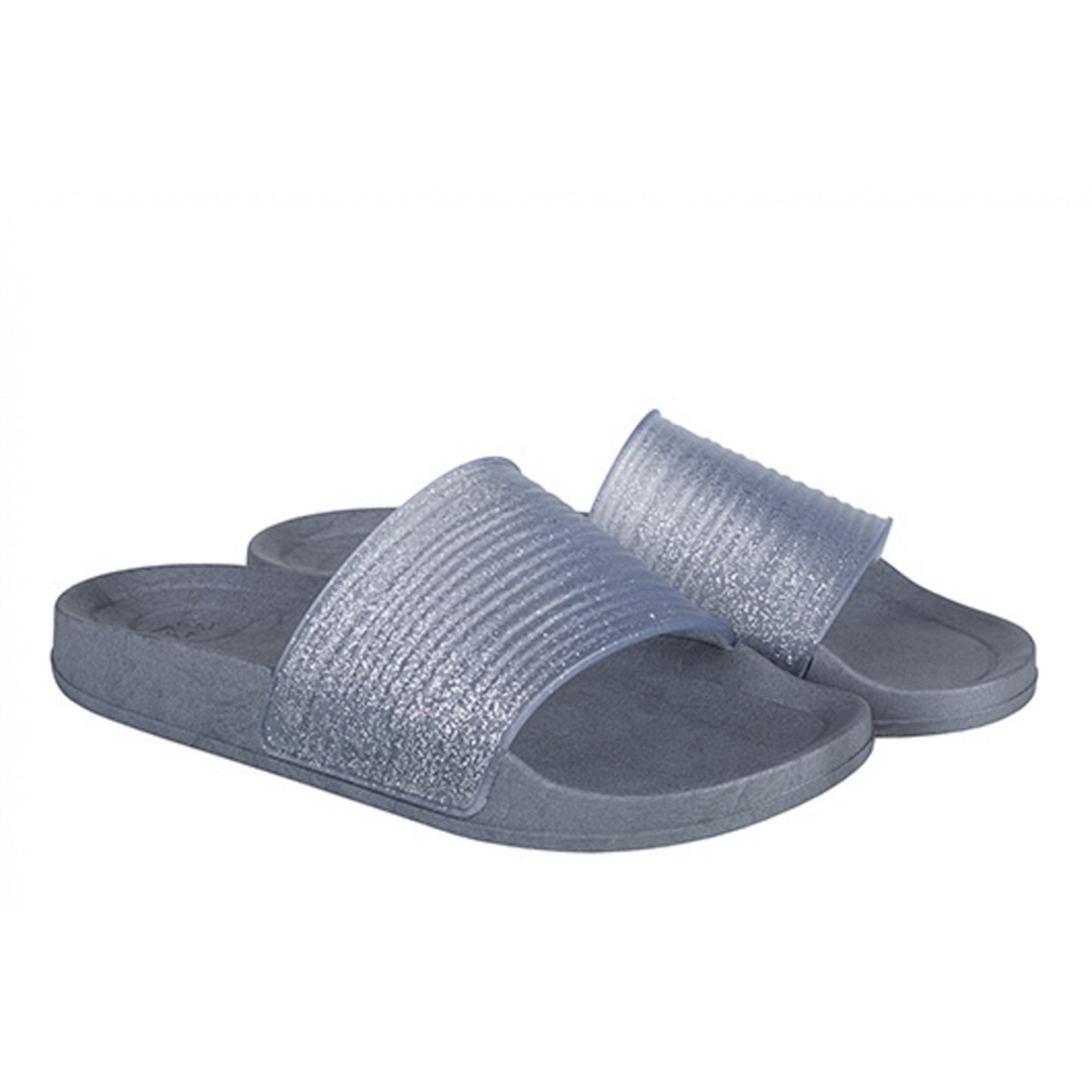 10cc110bfb73 Girl s sandals glitter silver Princesse Ilou