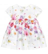 Robe bébé imprimée floral