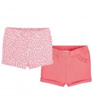 Set de shorts bébé coton
