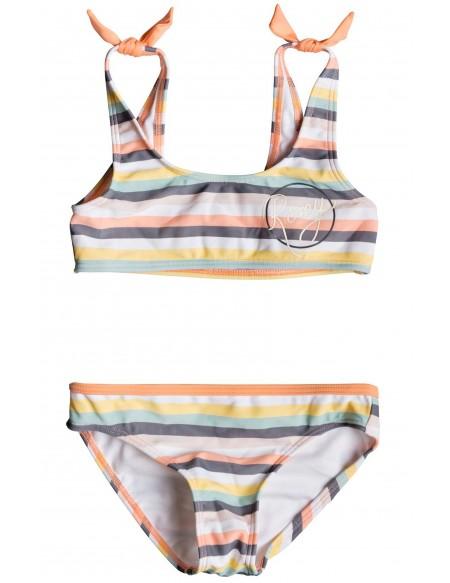 Maillot de bain 2 pièces bébé Girl Lets Go Surfing