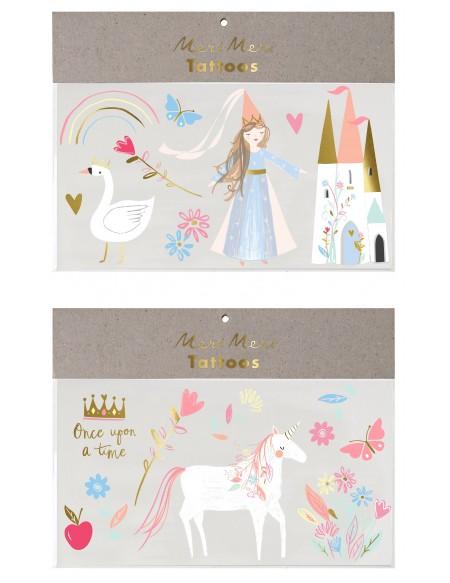Tatouages éphémères Princesse