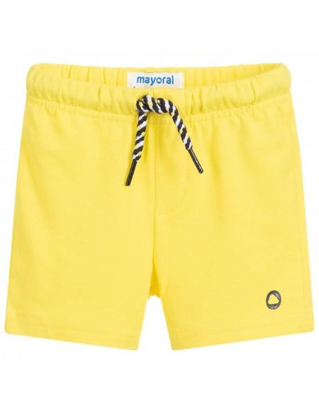 Boy yellow cotton shorts