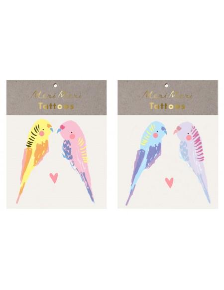 Tatouages éphémères Oiseaux