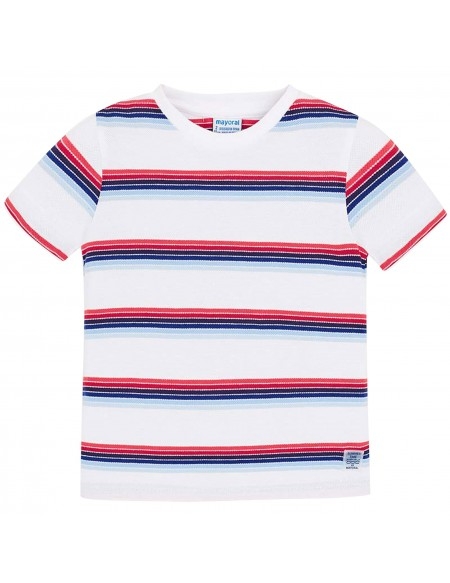 Cotton piqué T-shirt