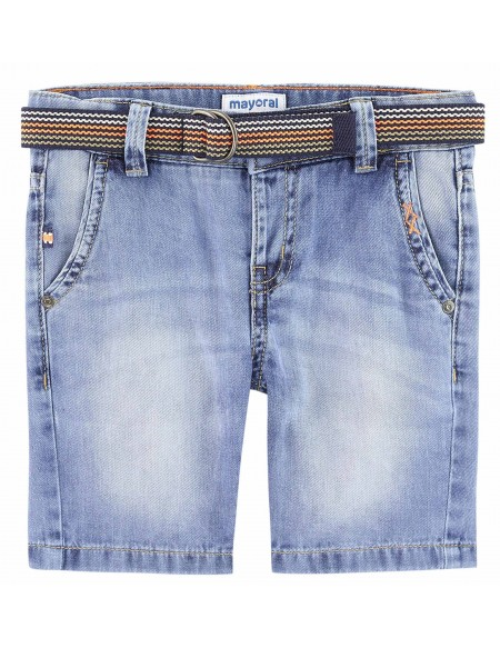 Bermuda garçon en jeans