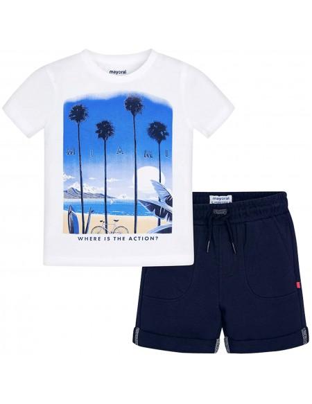 T-shirt et short garçon Miami