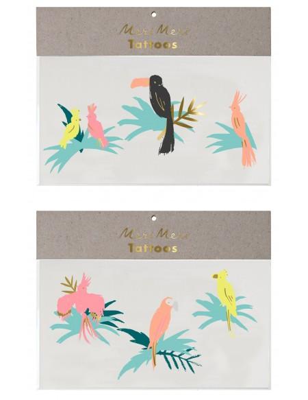 Tatouages éphémères Bird