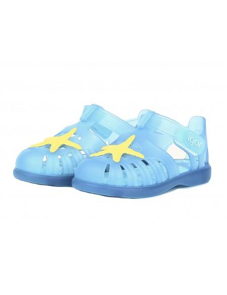 Sandalias de baño