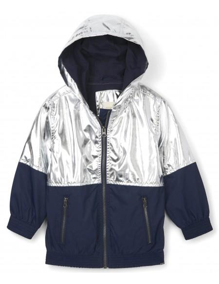 Metallic moonbeam Terry Lined jacket