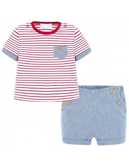 T-shirt et short bébé garçon