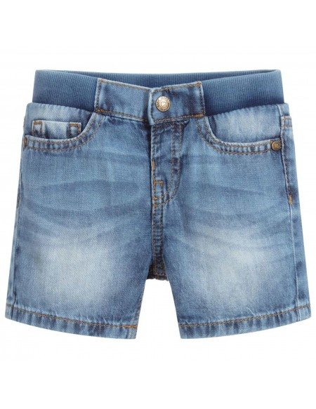 Boy blue denim short