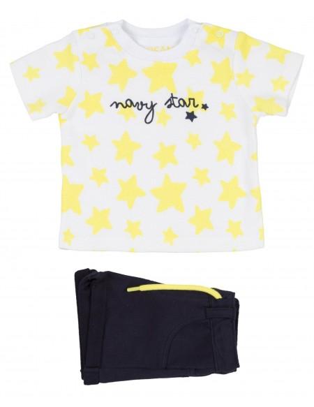 Ensemble bébé garçon t-shirt et short