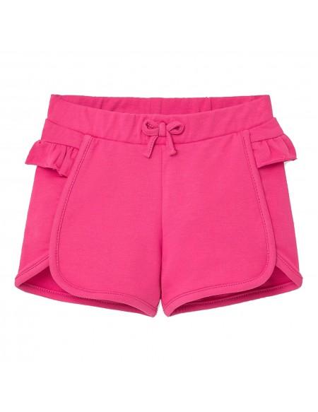 Baby girl cotton shorts