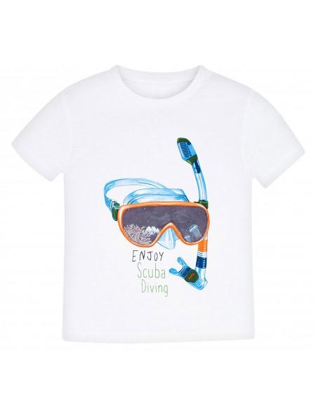 Camiseta manga corta de niño