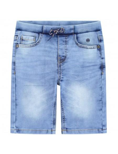 Short garçon en jeans stretch