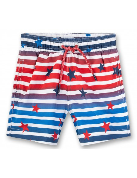 Printed boys swim short