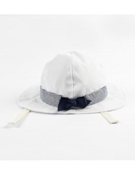 Chapeau bébé avec noeud