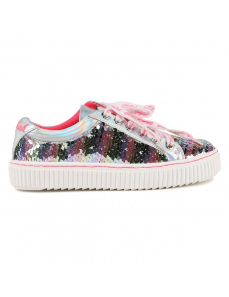 Sequin hight top trainers