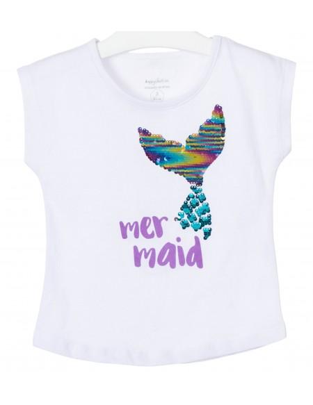 T-shirt avec motif sequin