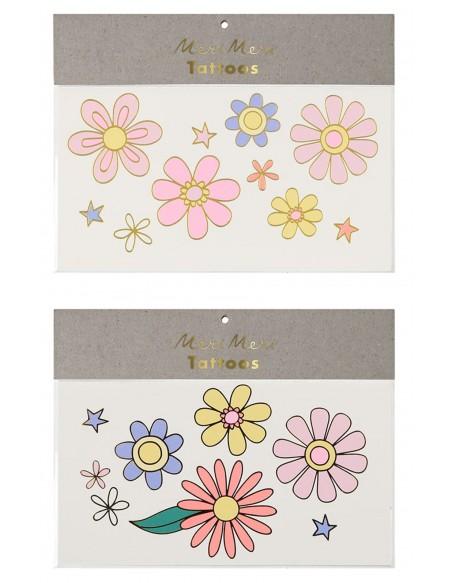 Tatouages éphémères Flower