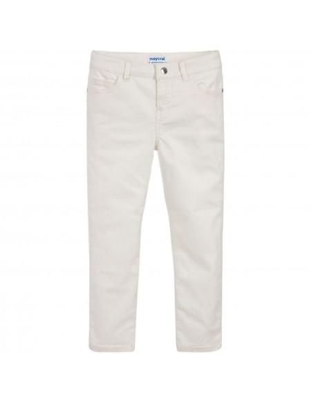 Pantalon skinny fit métallisé