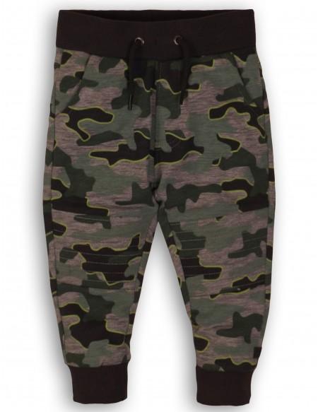 Pantalon de jogging camouflage bébé garçon