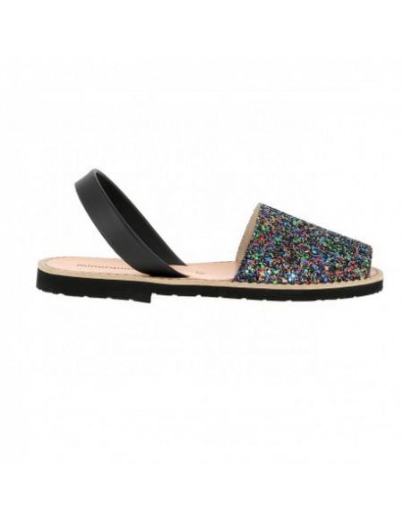 Sandales pailletées plates AVARCA PAILLETTES