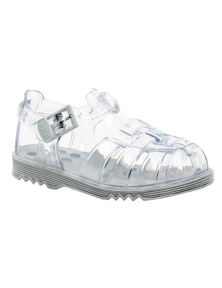 Sandales de bain bébé en plastique uni CHOLO