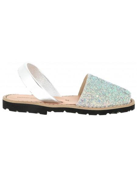 Sandales pailletées plate AVARCA PAILLETTES