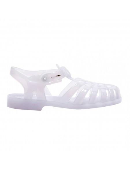 Sandalias de baño blanco