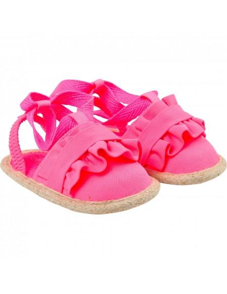 Sandalettes bébé à nouer