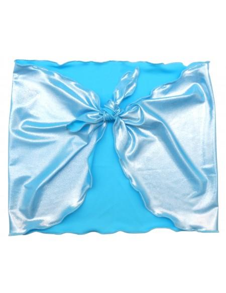 Blue shiny sarong Hina