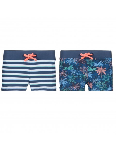 Pack of 2 stretch swim short