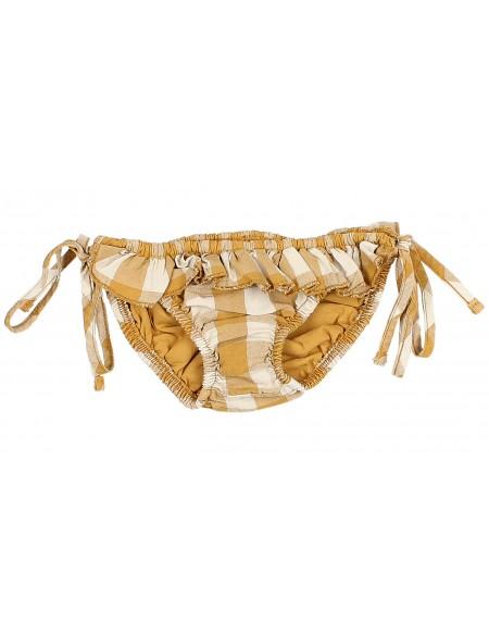 Gingham bikini bottom