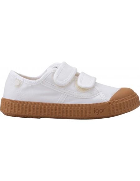 Sneakers bébé BERRI Velcro Caramelo