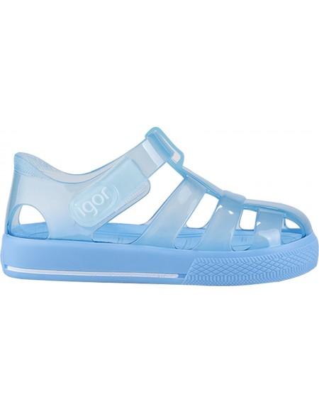 Kid's Star Plastic Sandals