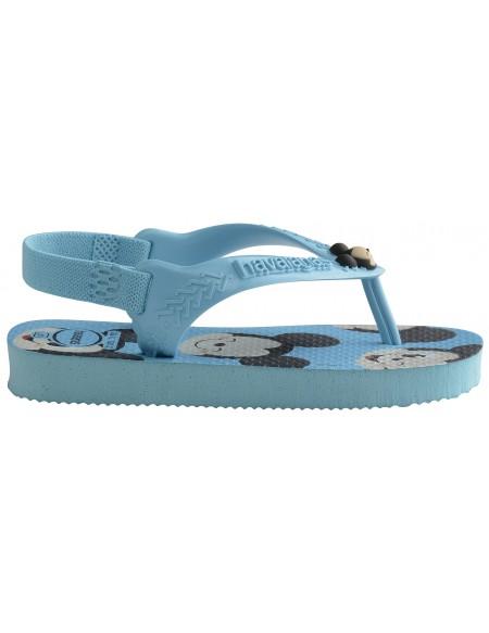 Disney baby flip flops