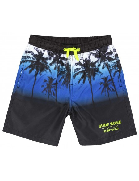 Printed boy swim short