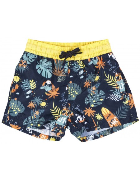 Print boys swim short
