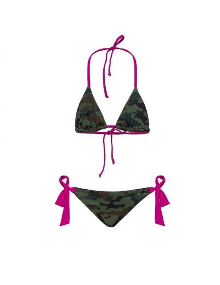 Maillot de bain 2 pièces camouflage MINI YUMA