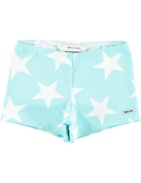 Boxer baño celeste estrellas